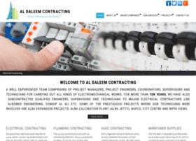 aldaleemcontracting.com