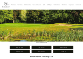 aldenhamgolfclub.co.uk