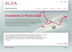 alea-energy-solutions.com