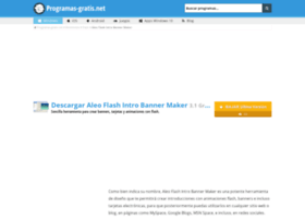 aleo-flash-intro-banner-maker.programas-gratis.net