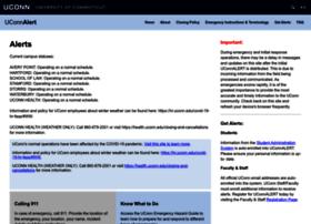 alert.uconn.edu