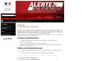 alerte-enlevement.gouv.fr