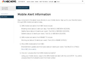 alerts.msnbc.com