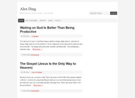 alex-ding.com