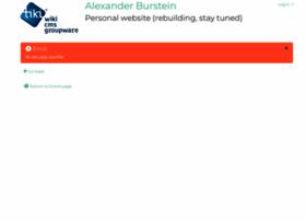alexanderburstein.com