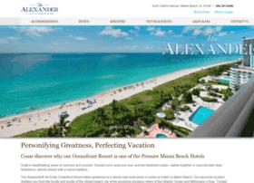 alexanderhotel.com