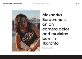 alexandrabarberena.com