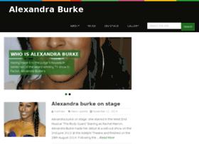alexandraburke.co.uk