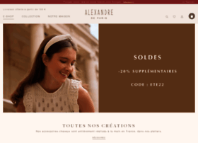 alexandredeparis-store.com