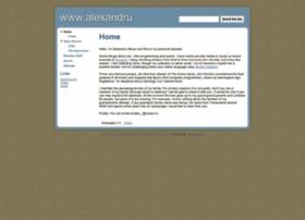 alexandru.mosoi.googlepages.com