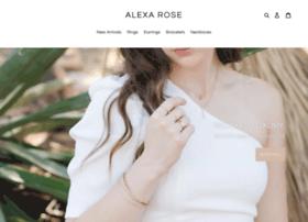 alexarosejewelry.com