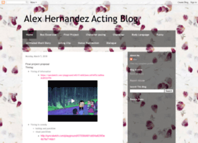 alexhernandezacting.blogspot.com
