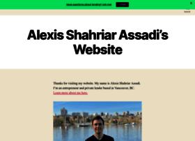 alexisassadi.net