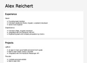 alexreichert.com