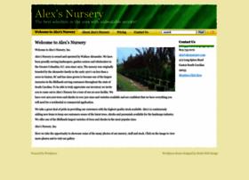 alexsnursery.com