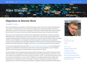 alexwarren.co.uk
