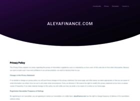 aleyafinance.com
