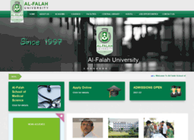 alfalahuniversity.edu.in