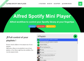 alfred-spotify-mini-player.com