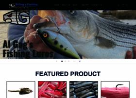 algagsfishinglures.com