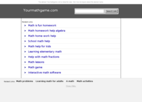algebra.yourmathgame.com