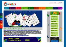 algebra4children.com