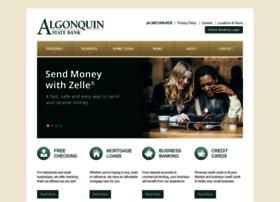 algonquinstatebank.com