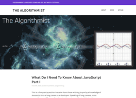Algorithmist.wordpress.com