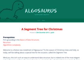 algosaur.us