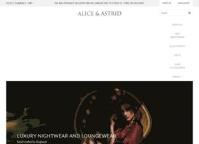 aliceandastrid.com