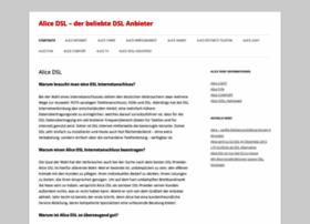 alicedsl.org