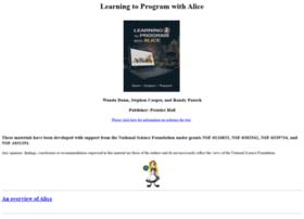 aliceprogramming.net