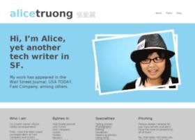 alicetruong.com