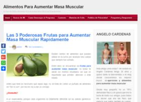 alimentosparaaumentarmasamuscular.org