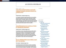 alisonlohhman.blogspot.in