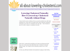 all-about-lowering-cholesterol.com
