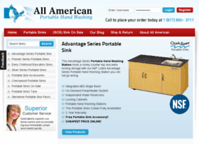 all-american-portable-sinks.com
