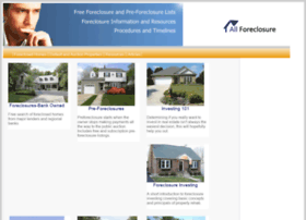 all-foreclosure.com