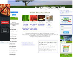 all4naturalhealth.com