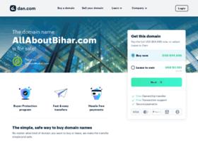 allaboutbihar.com