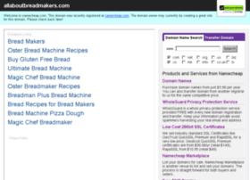 allaboutbreadmakers.com