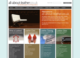 allaboutleather.co.uk