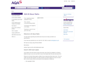 allaboutmaths.aqa.org.uk