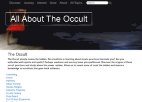 allabouttheoccult.org