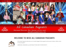 allcanadianpageants.com