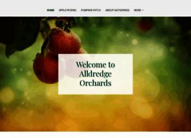 alldredgeorchards.com