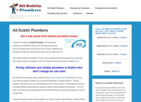 alldublinplumbers.com