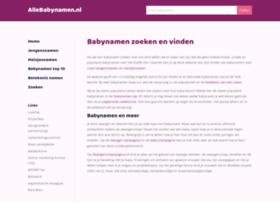allebabynamen.nl