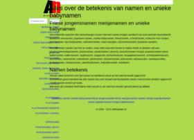 allenamen.nl