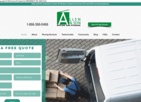 allenandsonmoving.com